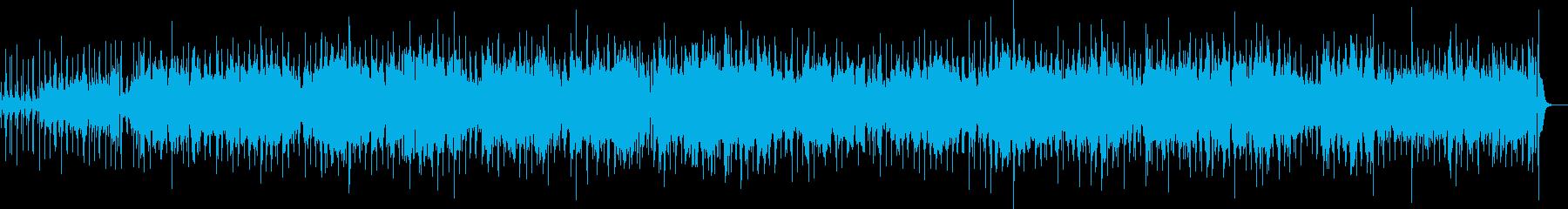 優雅な黄昏時のメロディをサンバでの再生済みの波形
