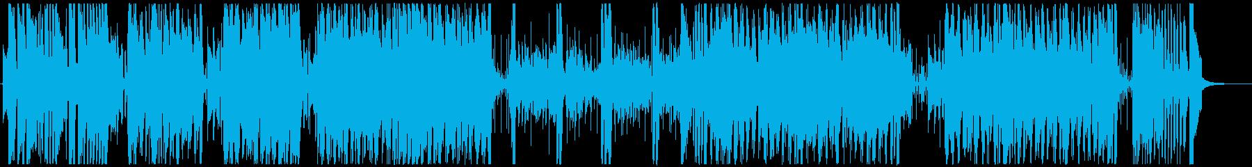 情熱大陸風フュージョン ジャズ BGMの再生済みの波形