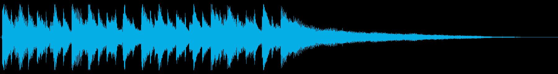 コーポレート系ビジネスジングルの再生済みの波形