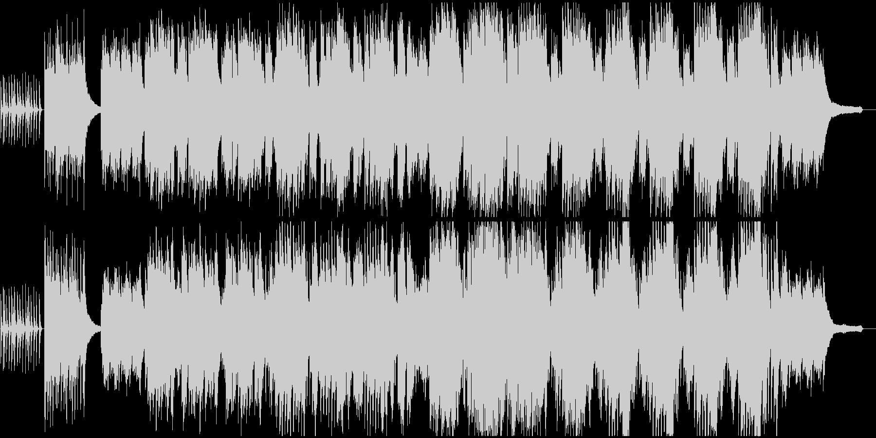 木琴とピアノが印象的な明るい歌の未再生の波形