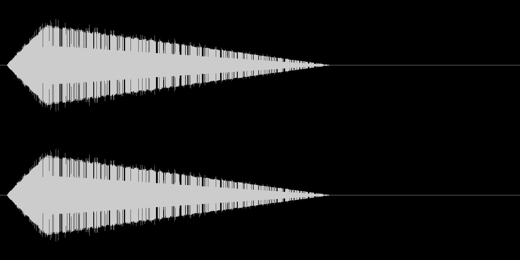 レトロゲーム風・魔法詠唱#8の未再生の波形
