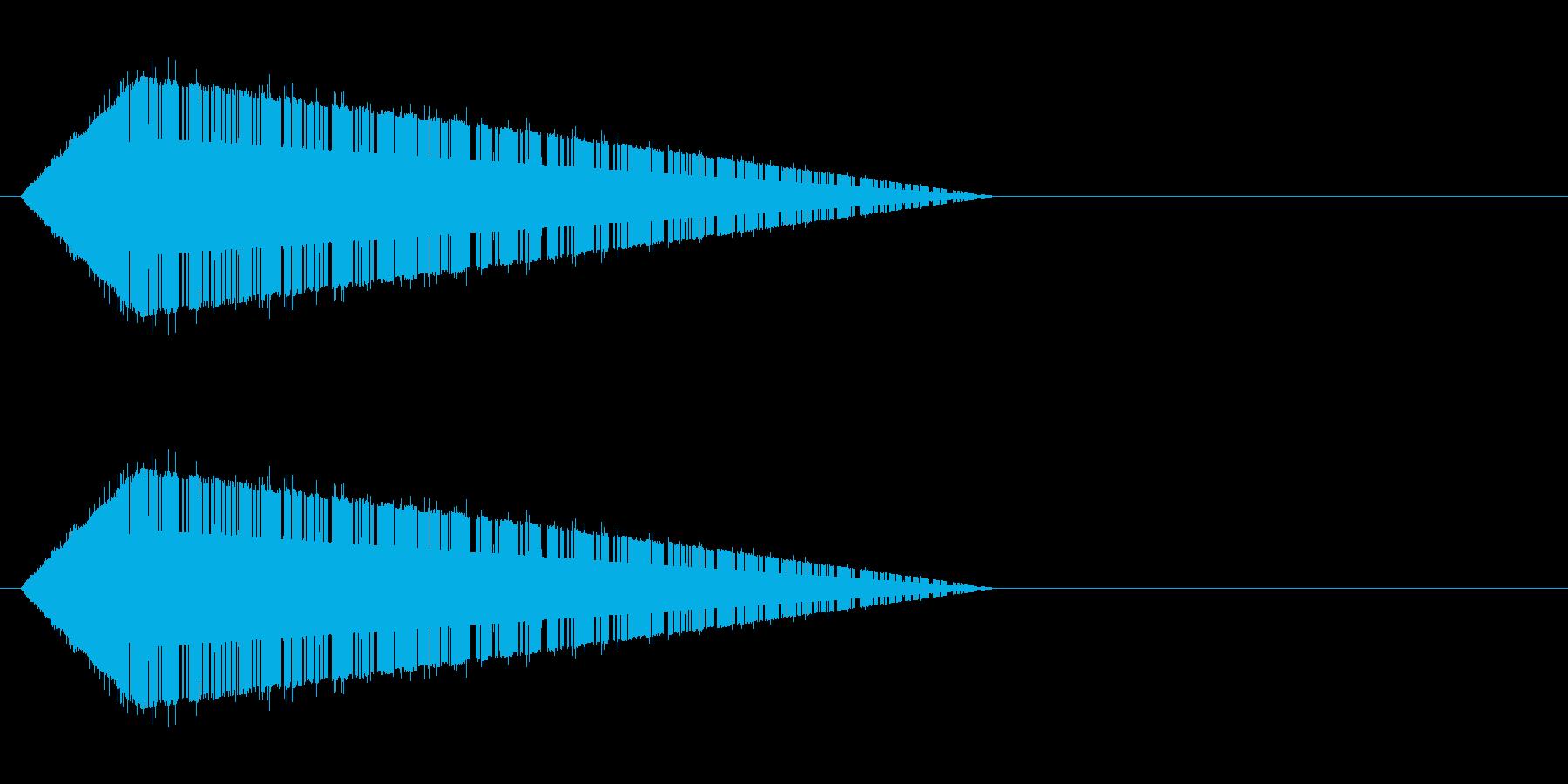 レトロゲーム風・魔法詠唱#8の再生済みの波形
