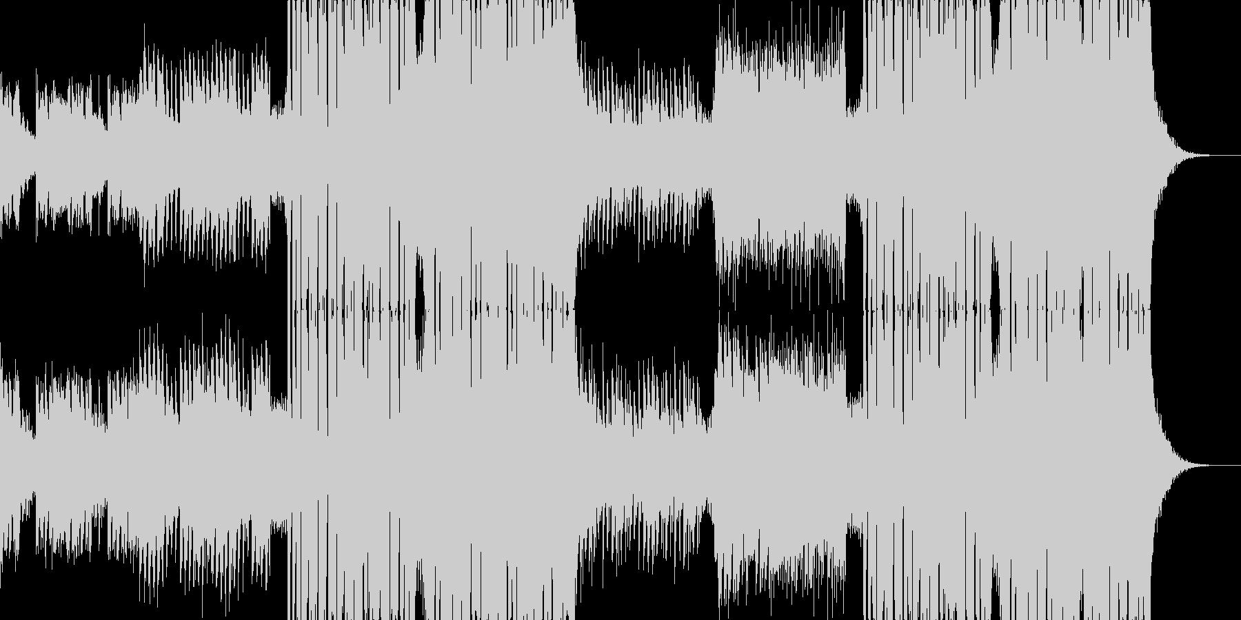 爽やかでノリの良いEDM/ピアノ/ハウスの未再生の波形