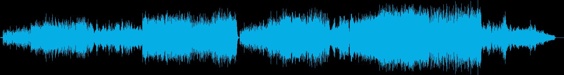 波打ち際から水平線を望むピアノ協奏曲の再生済みの波形