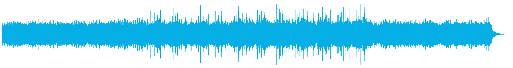 綺麗で爽やかなエレクトロポップな曲の再生済みの波形