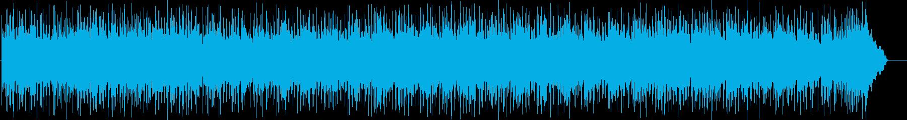 ゆったりと温泉に浸かるような和風BGMの再生済みの波形