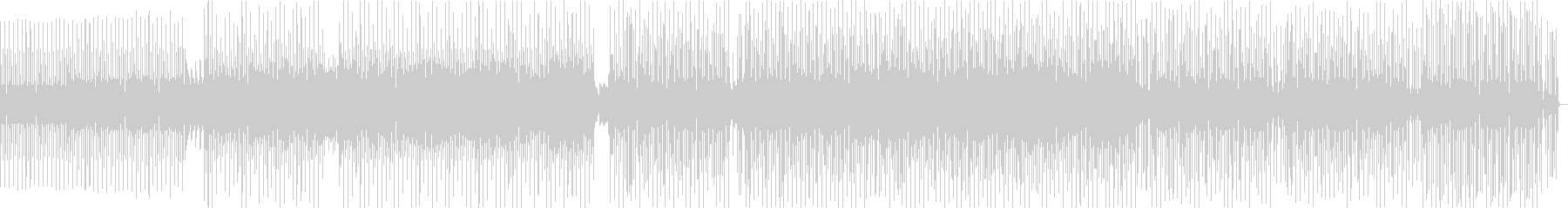 ダークでかっこいいなポップハウス曲の未再生の波形