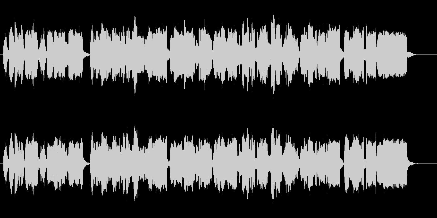 ルネサンス期の古楽器リコーダーの三重奏の未再生の波形