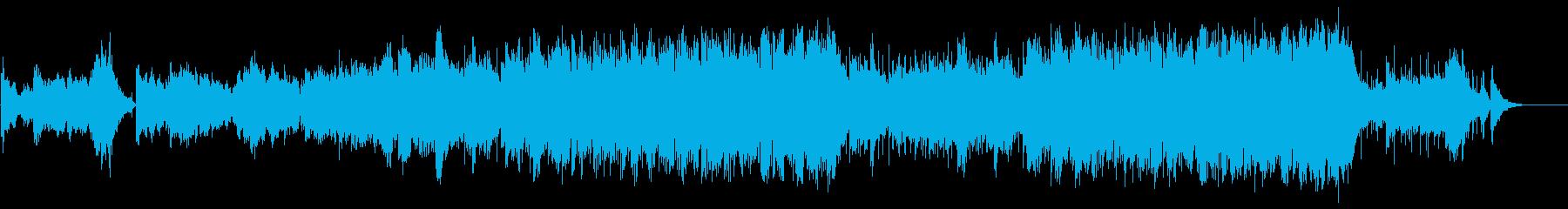 疲れを癒すハートフルなミディアムバラードの再生済みの波形