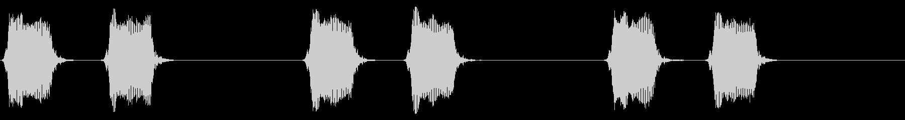 携帯電話 バイブレーション02-10(机の未再生の波形