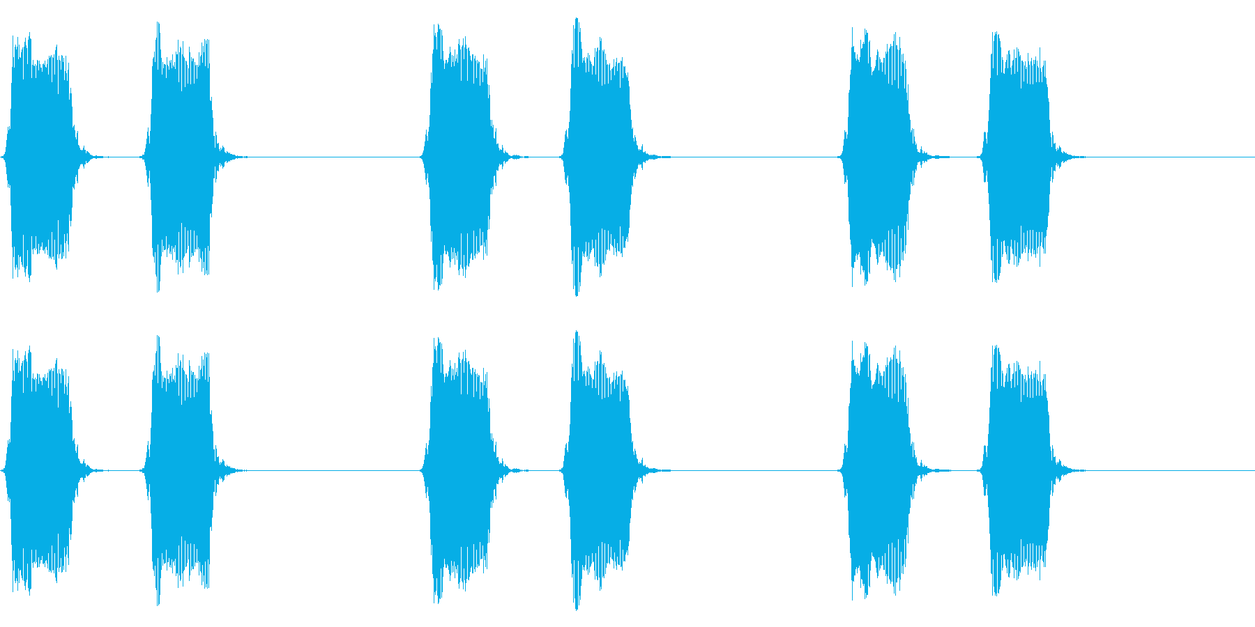 携帯電話 バイブレーション02-10(机の再生済みの波形