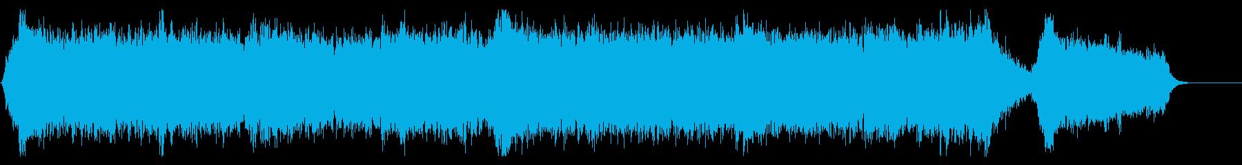 【ショート版】力強く壮大なシネマティックの再生済みの波形