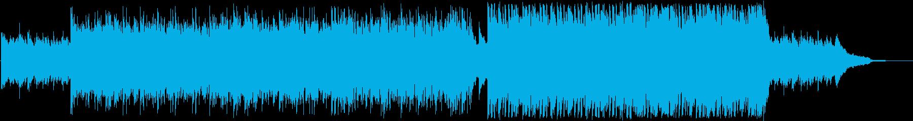 爽やか明るいフルートとピアノ ヒーリングの再生済みの波形