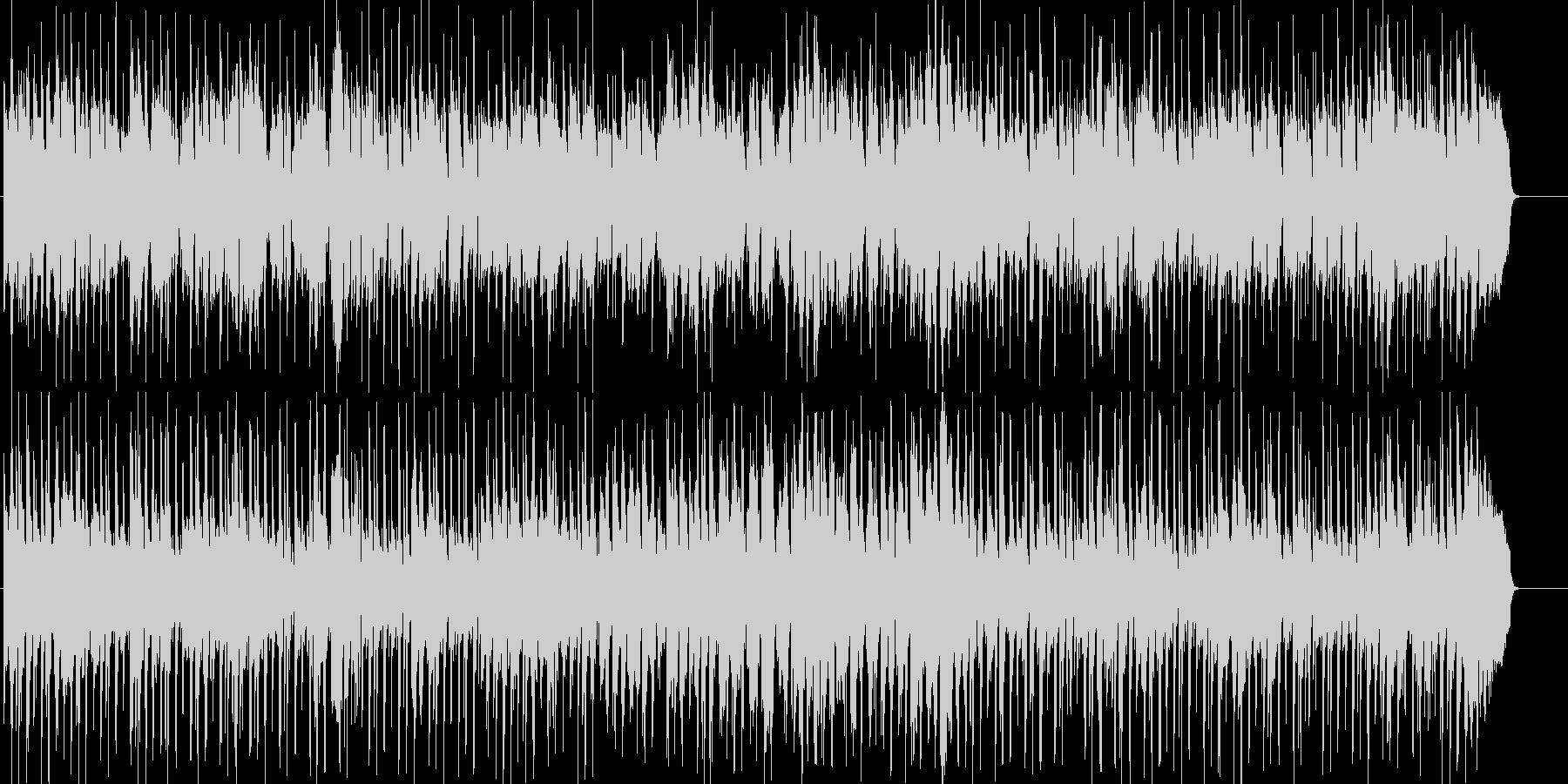 潜入するような淡々とした雰囲気のBGMの未再生の波形