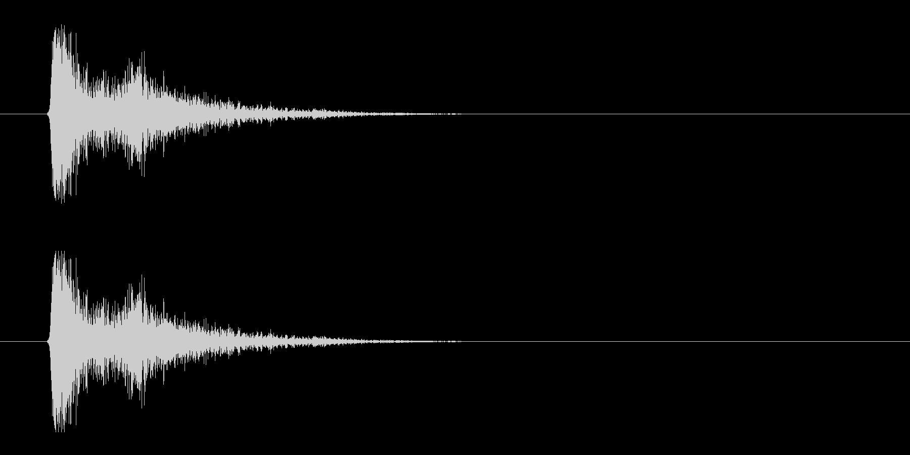 レーザー音-01-3の未再生の波形