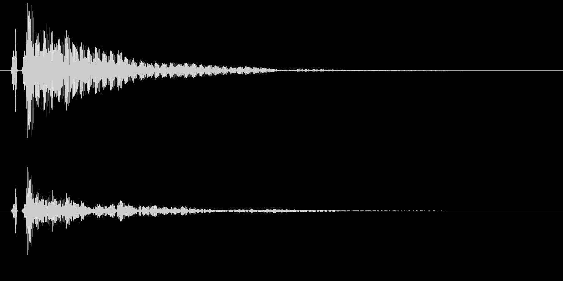 【単発】とてもリアルな和太鼓03!/高めの未再生の波形