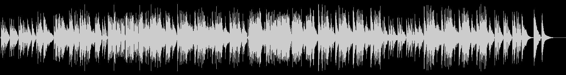 ポップなリラックスナイロンギターデュオの未再生の波形