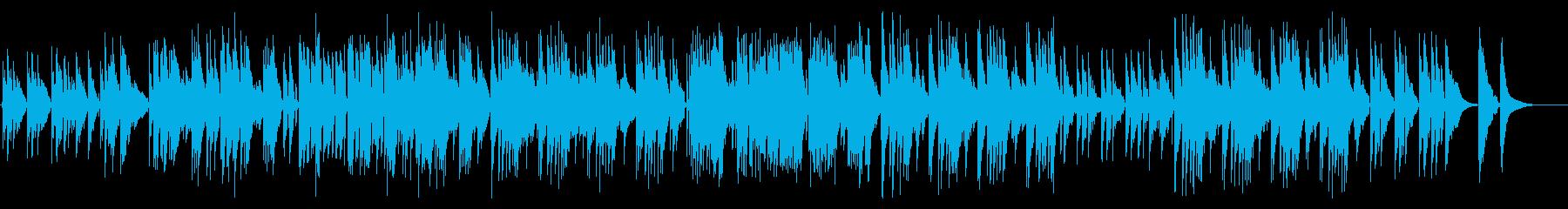 ポップなリラックスナイロンギターデュオの再生済みの波形
