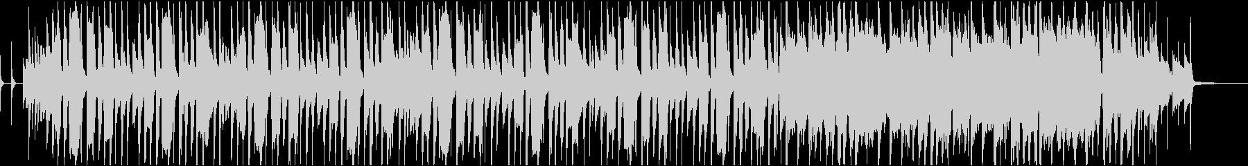 CMや映像用の楽しいトランペットの曲の未再生の波形