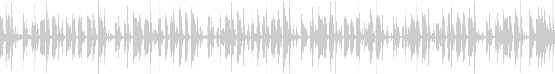 大人なジャズレトロの未再生の波形