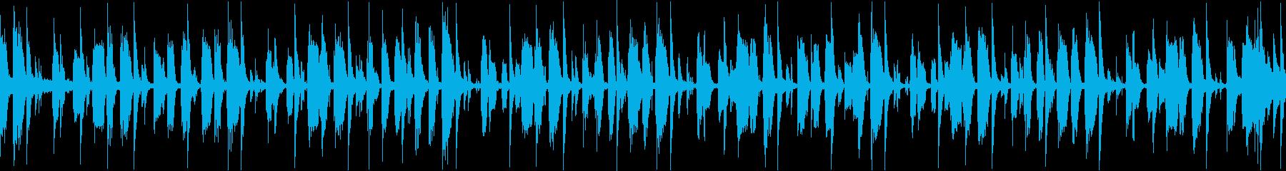 大人なジャズレトロの再生済みの波形