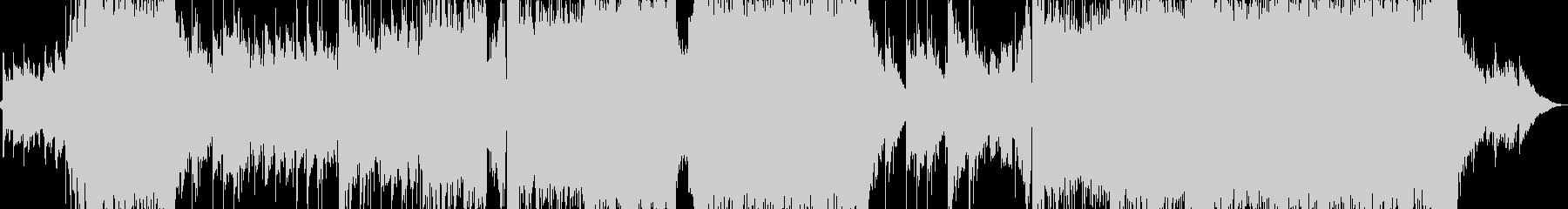 メロディが印象的なロックバラードの未再生の波形