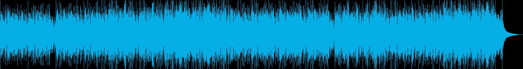 フルートとピアノの明るく爽やかなボサノバの再生済みの波形