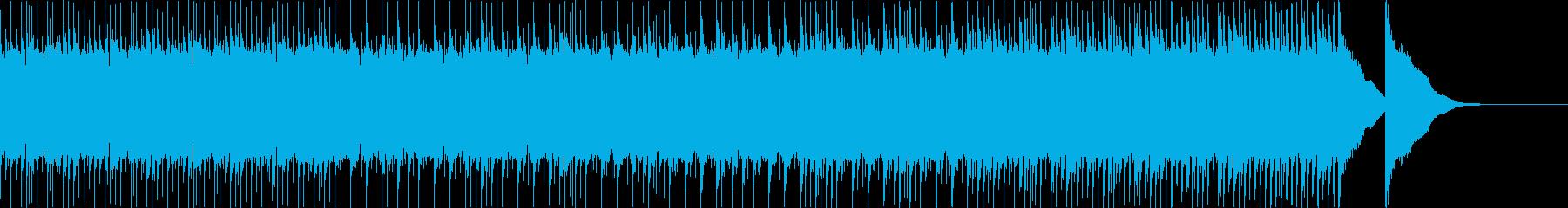三味線+和太鼓 勢いあるシブい和風曲5Aの再生済みの波形