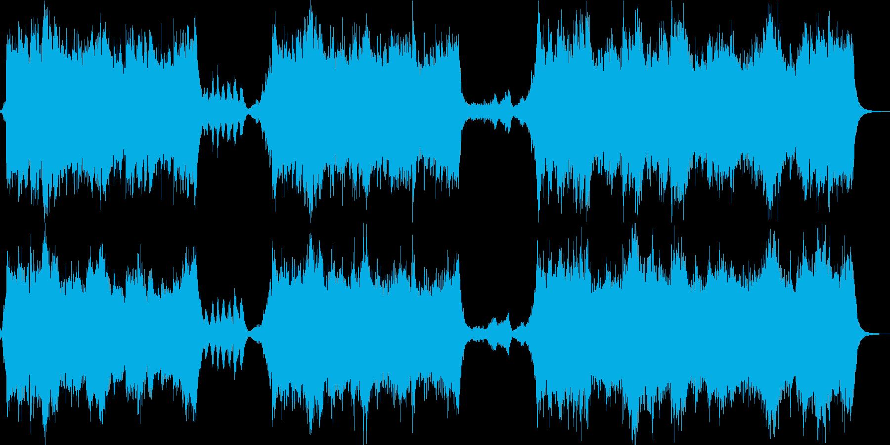 RPGのOPのような壮大なオーケストラの再生済みの波形