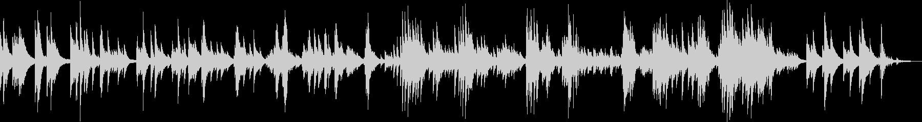 別れのテーマ(ピアノ・バラード・悲しい)の未再生の波形