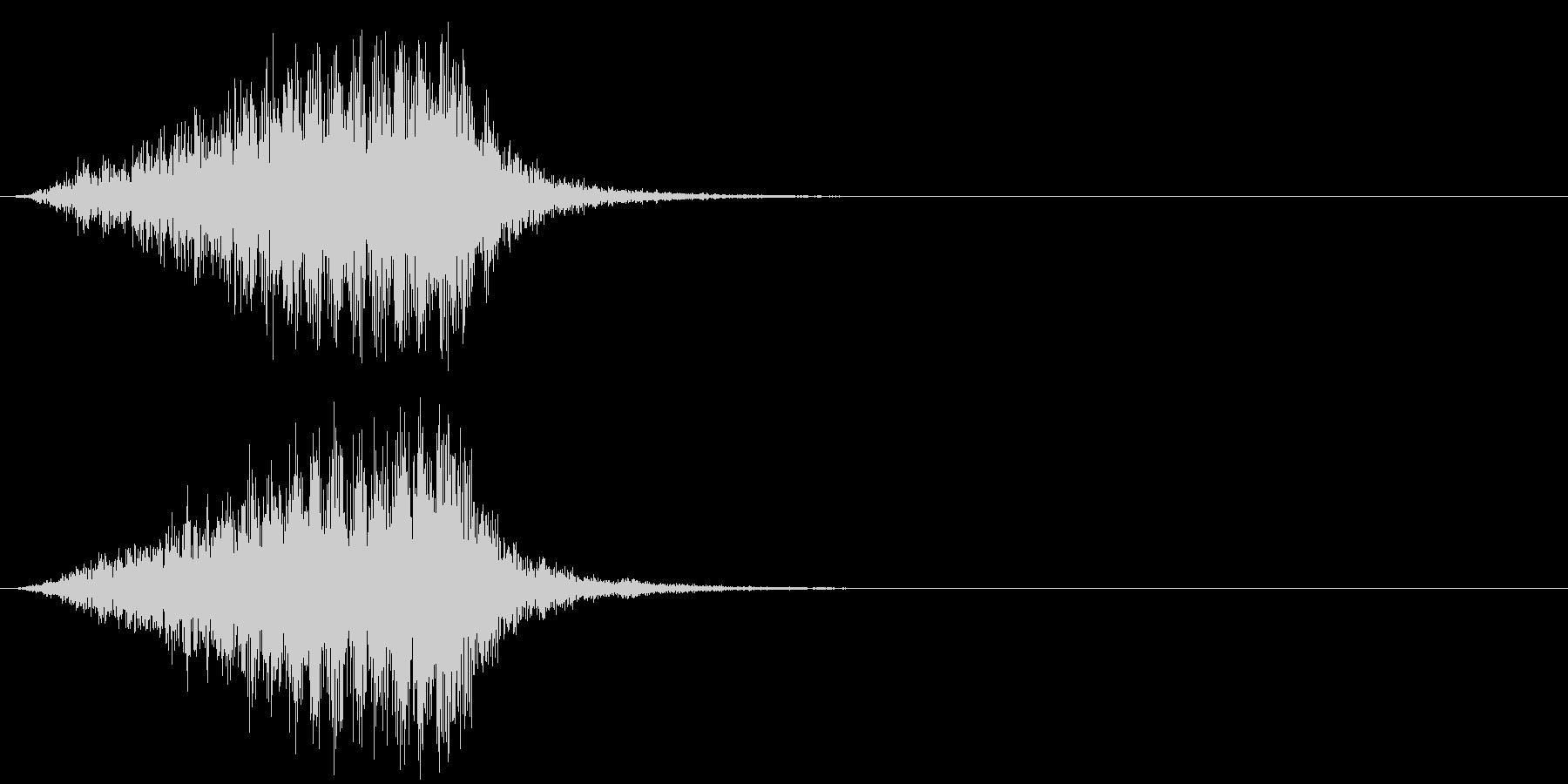 ホラー 近く 接近 恐怖 金属音 08の未再生の波形
