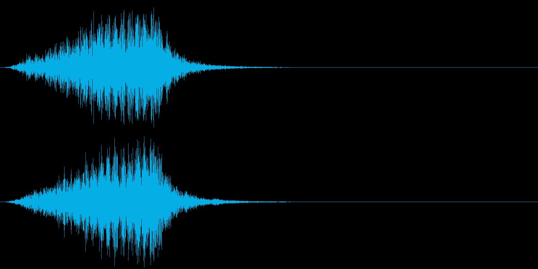 ホラー 近く 接近 恐怖 金属音 08の再生済みの波形
