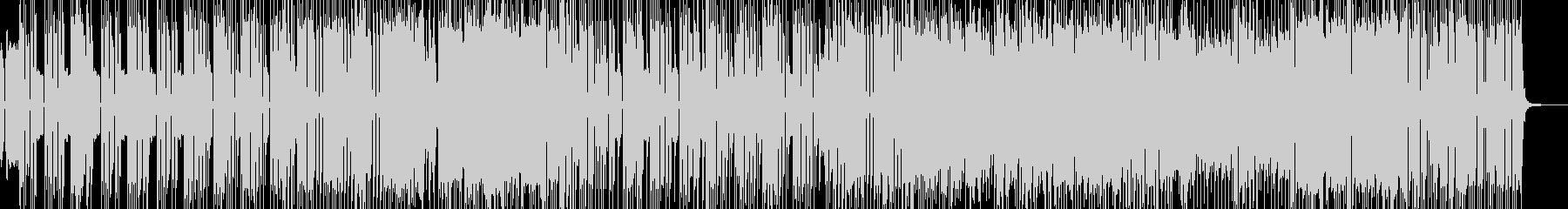 シンセ際立つ洋楽風4ピースロック B★の未再生の波形