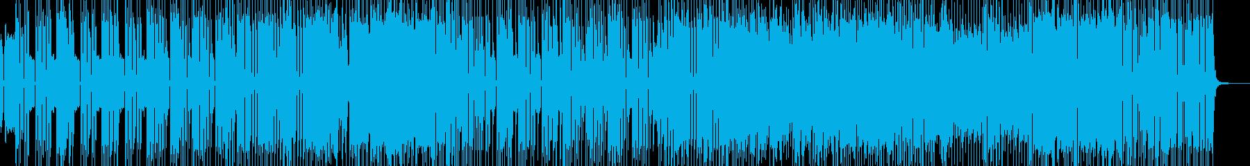 シンセ際立つ洋楽風4ピースロック B★の再生済みの波形