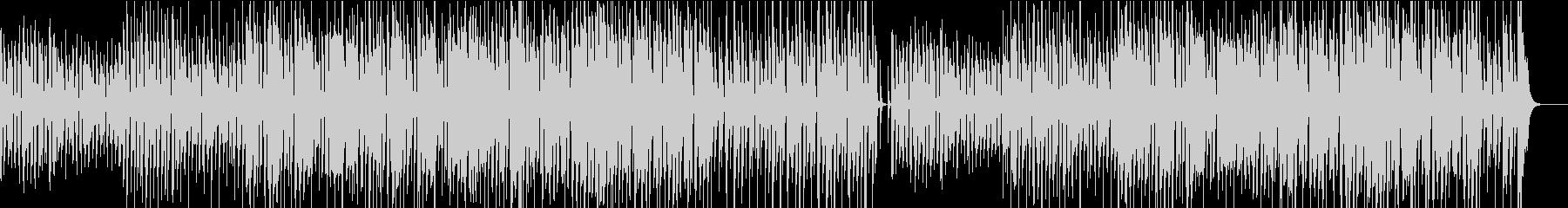陽気で軽快なトランペットのBGMの未再生の波形