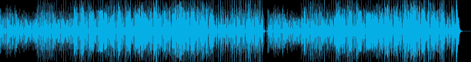 陽気で軽快なトランペットのBGMの再生済みの波形