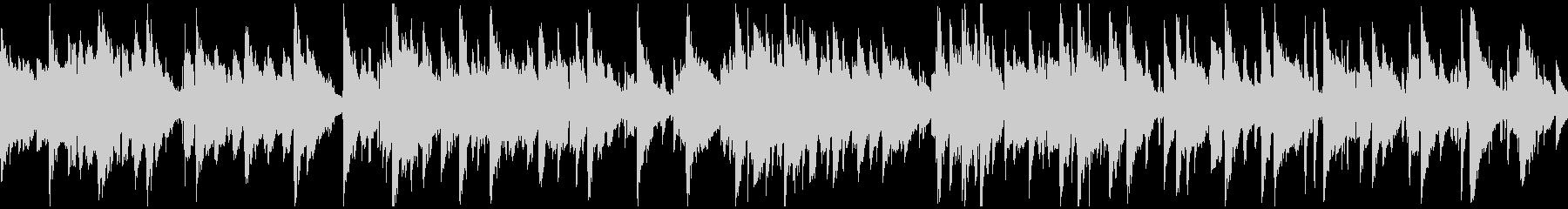 現代的アコースティックジャズ ※ループ版の未再生の波形