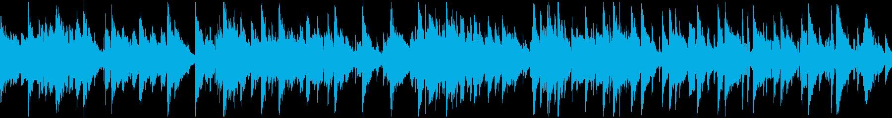 現代的アコースティックジャズ ※ループ版の再生済みの波形