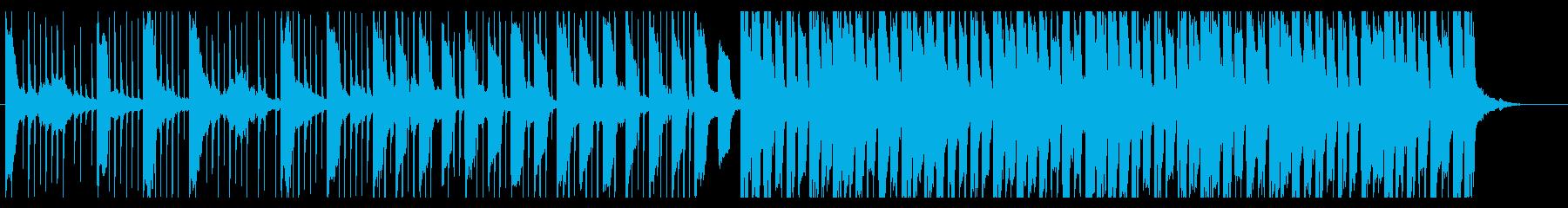 浮遊感/優しさ_No417_2の再生済みの波形