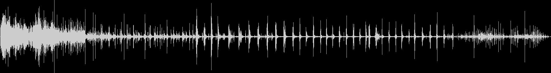 ドライアイスリリース、SCI FIジープの未再生の波形