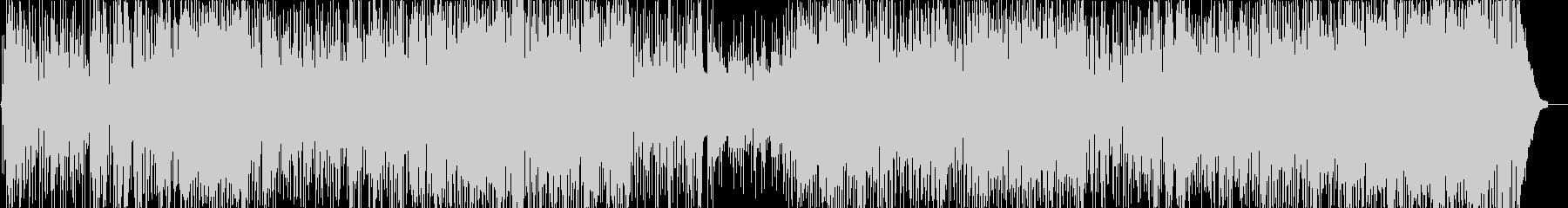 ポップよりのジャズフュージョンの未再生の波形