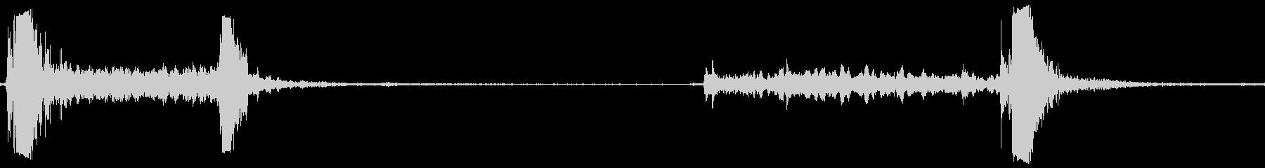 ドアタンク弾薬オープンシャット静かの未再生の波形