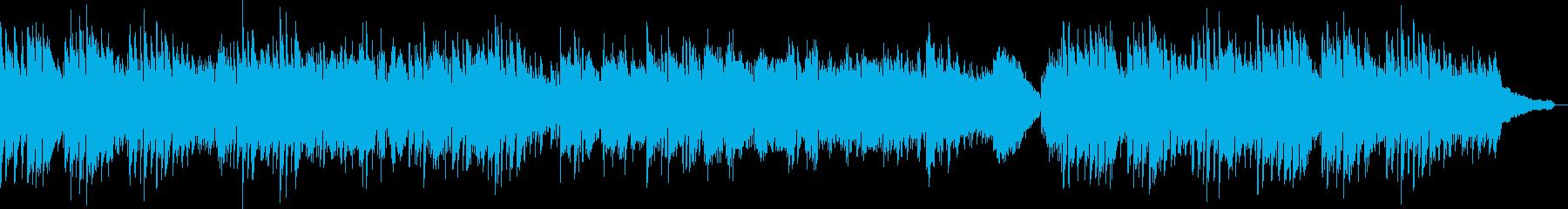 疾走感のあるソロピアノの再生済みの波形