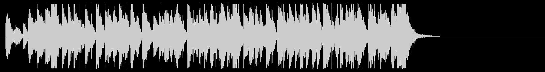 三味線と太鼓のアンサンブル3BPM120の未再生の波形