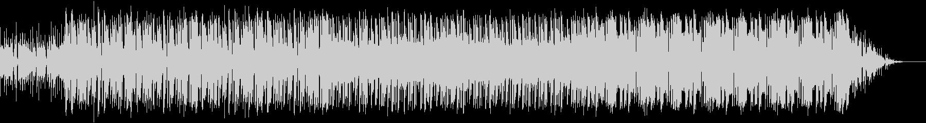 パズルやシューティング向きの曲の未再生の波形