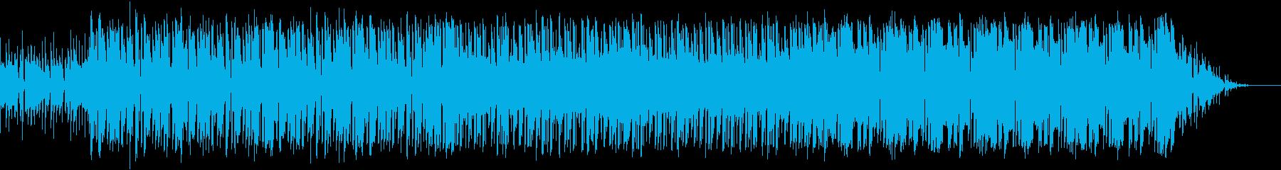 パズルやシューティング向きの曲の再生済みの波形