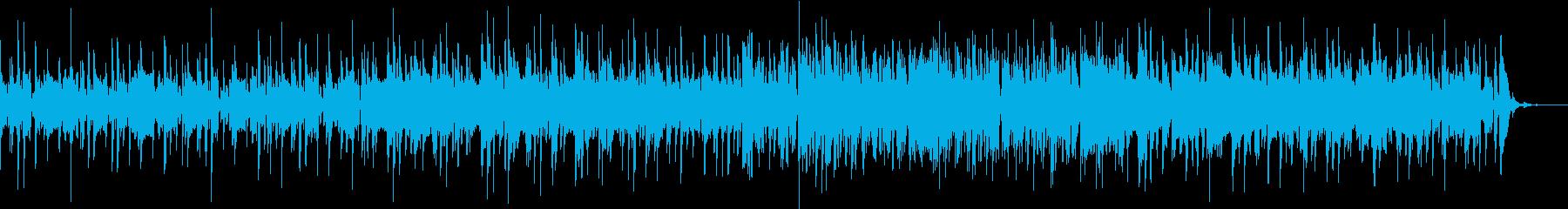 ほのぼの雰囲気の補給系ポップスの再生済みの波形