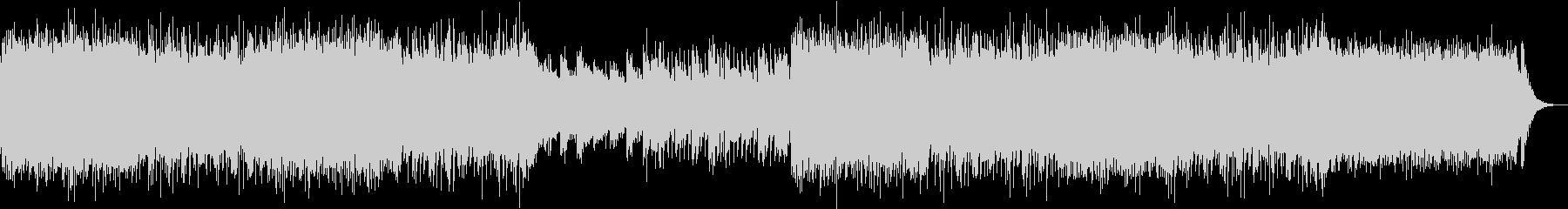 ピアノとシンセのエレクトロ EDMの未再生の波形