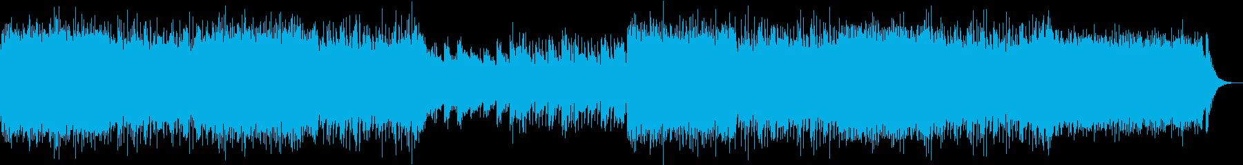 ピアノとシンセのエレクトロ EDMの再生済みの波形