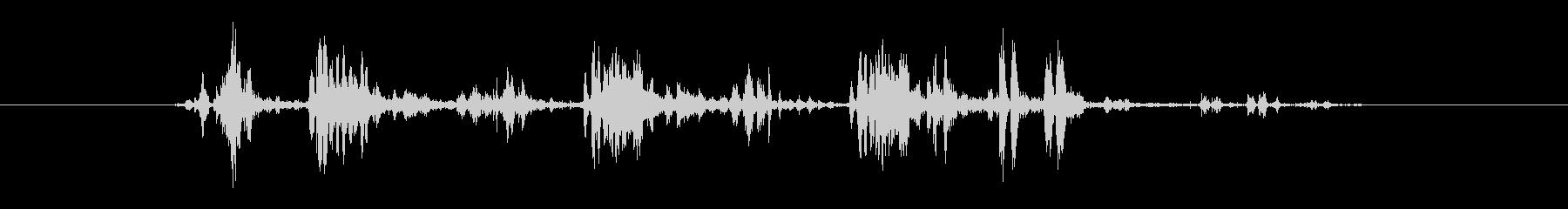 電気機械 小さな電圧スパーク03の未再生の波形